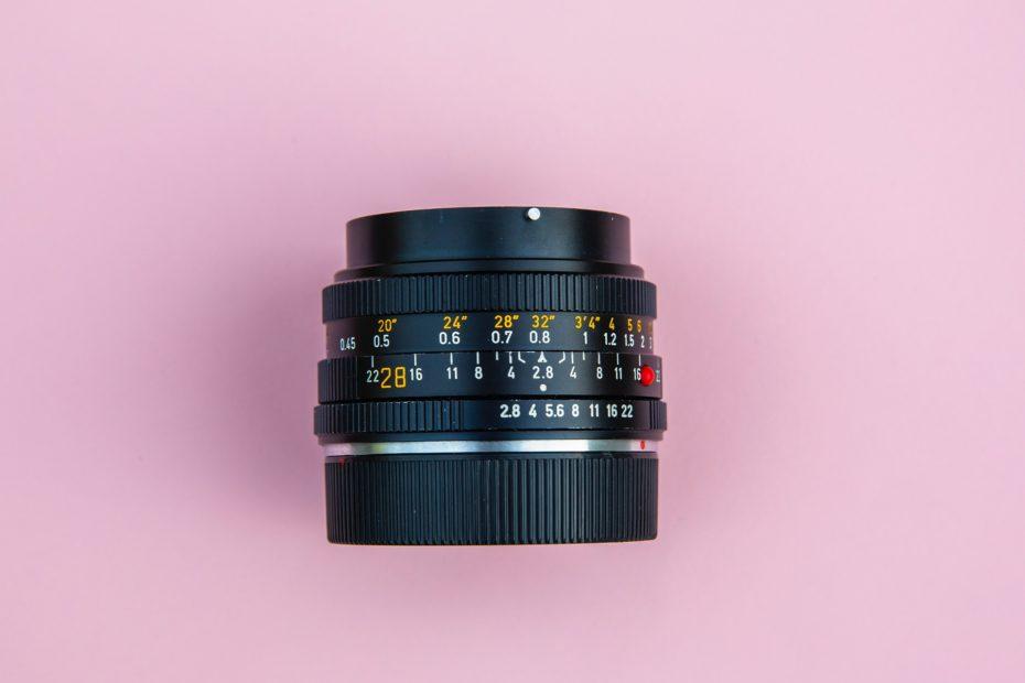 Lentille de caméra pour film d'entreprise